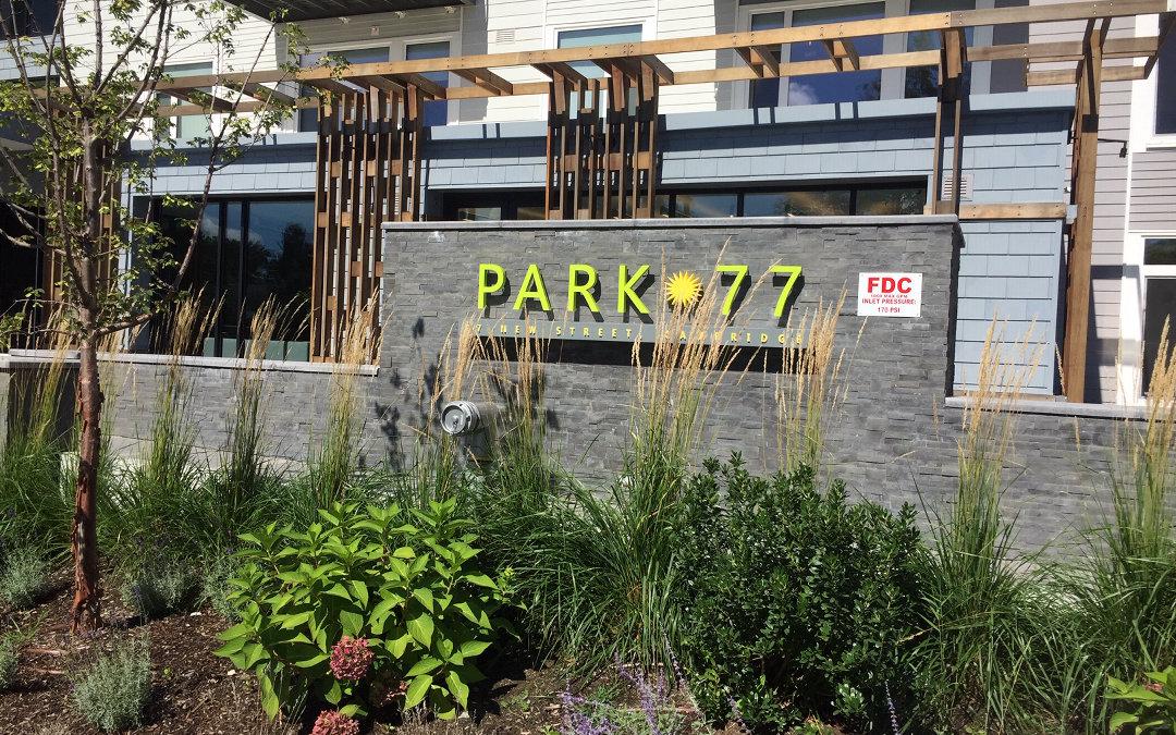 Plantscape Designs Inc of Massachusetts Partners with Luxury 77 News Street Condos/ Apartments Cambridge